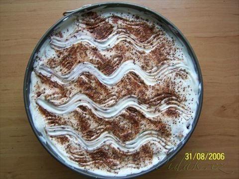 Obrázek z Recept - Vynikající dort ze zakysaných smetan - rychlovka