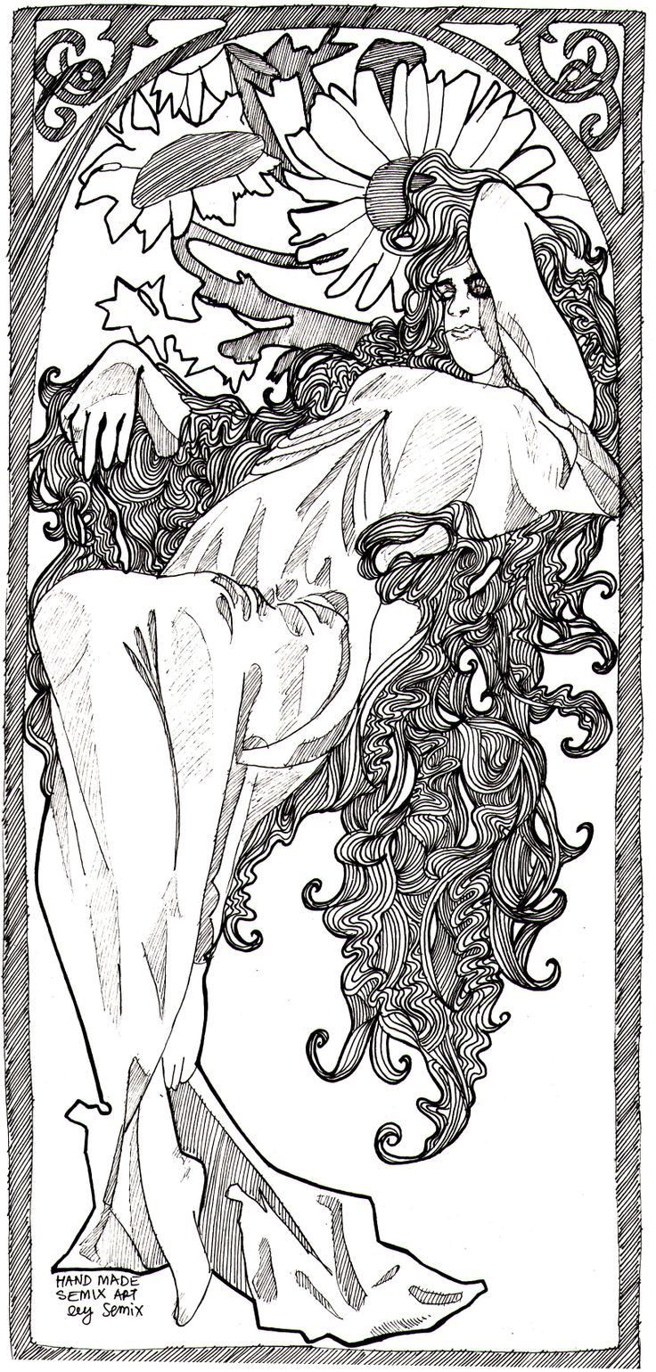 Summer~~ Alfons Mucha
