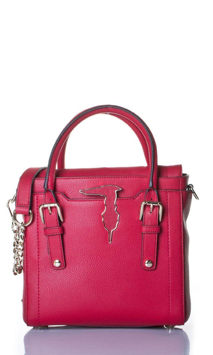 Tru Trussardi | Borsa A Mano Tru Trussardi Donna Col. Rosso - Shop Online su Dursoboutique.com 76B008K317