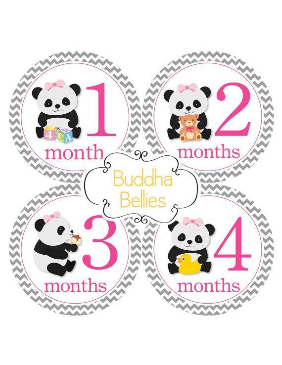 17 mejores ideas sobre pegatinas de meses de beb s en for Pegatinas pared nina