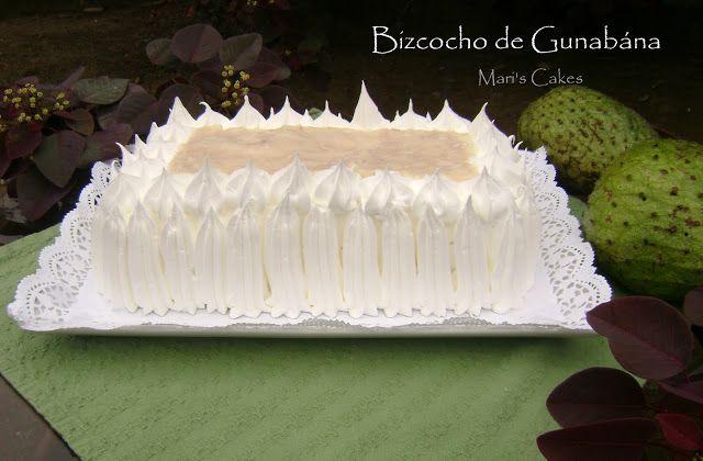 Bizcocho de Guanabana | Mari's Cakes