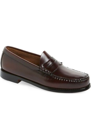 a7ae016b9b9 G.H. BASS   CO.  LARSON - WEEJUNS  PENNY LOAFER.  g.h.bassco.  shoes  flats