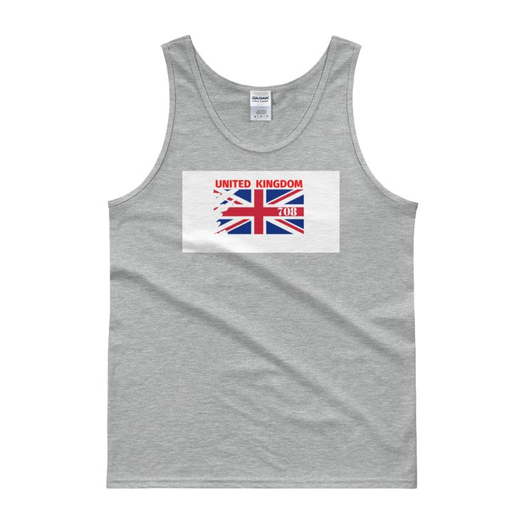 Runners Abstract UK Tank Top