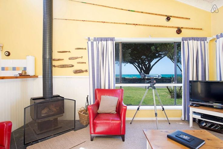 Our comfy, dog-friendly holiday rental on the Great Ocean Road, Apollo Bay. Directly opposite the beach and close to town. Phone Holiday Great Ocean Road to book Beach Break! 61 3 5237 1098. Enjoy your break beside the seaside!