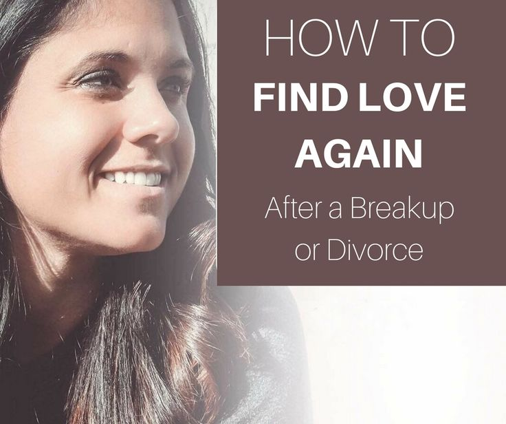 Will i ever find love again after divorce