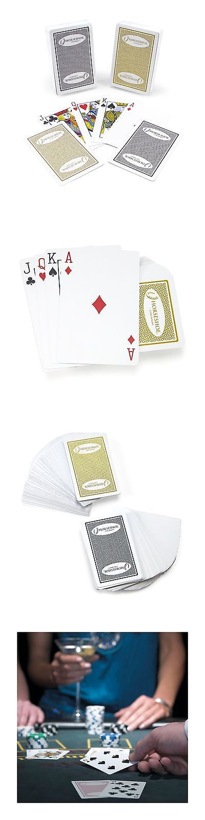 Card Games-Contemporary 19082: Kem Authentic Horseshoe Casino 100% Plastic Playing Cards Dual-Deck Set Stand... -> BUY IT NOW ONLY: $30.64 on eBay!