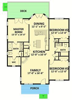 Cozy and Compact Cottage - 46312LA floor plan - Main Level