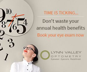 Time is ticking....Don't waste your annual health benefits.  Book your eye exam now!  http://lynnvalleyoptometry.com/ #eyeexam #optometrist #northvan #northvancouver