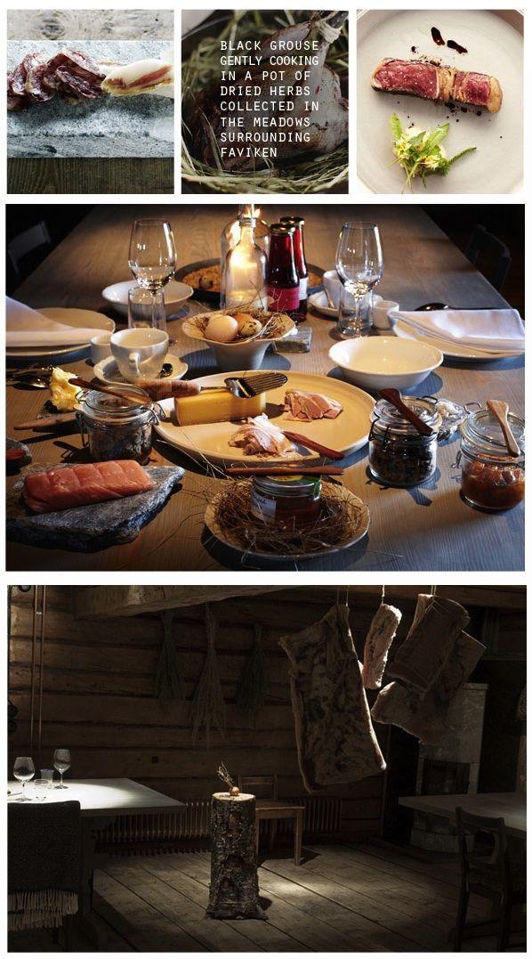 Faviken in Sweden. Europe's most remote restaurant. Ultra locavore.