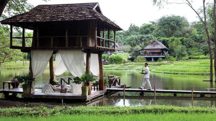 I want to spend hours here with my new honey. #luxbride Four Seasons Resort Chiang Mai