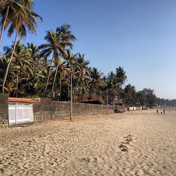 Juhu Beach in Mumbai, Mahārāshtra