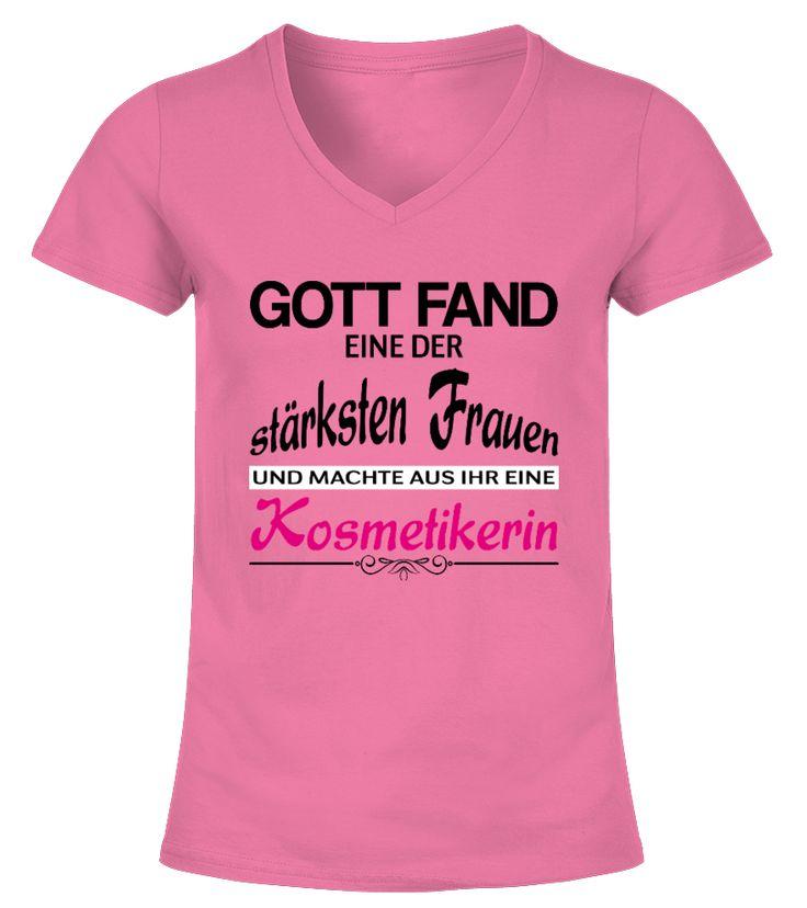 Kosmetikerin - Gott  #gift #idea #shirt #image #funny #job #new #best #top #hot #legal