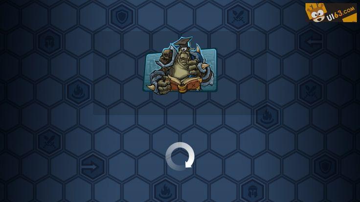 手机游戏《epicarena》UI界面设计_点击查看原图