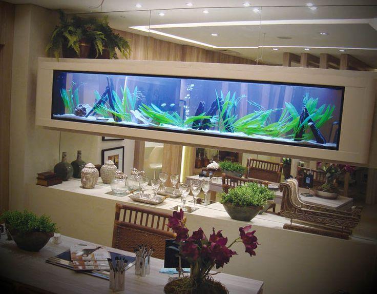 Decoração para aquário - http://www.dicasdecoracao.com/decoracao-para-aquario/