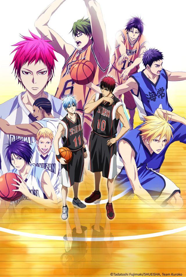 "Crunchyroll - Crunchyroll To Stream ""Kuroko's Basketball"" Season 3"