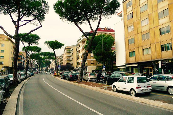Via Gregorio VII, Aurelio. #westside #romaovest