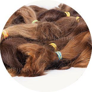 Славянские европейские волосы немытые