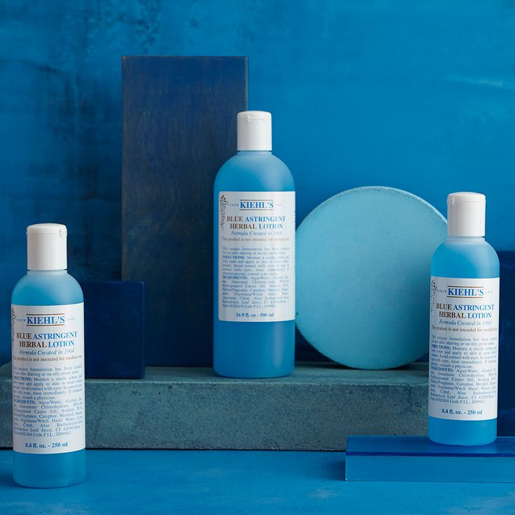 Our Blue Astringent Herbal Lotion was Andy Warhol's favorite. What's your favorite Kiehl's classic?