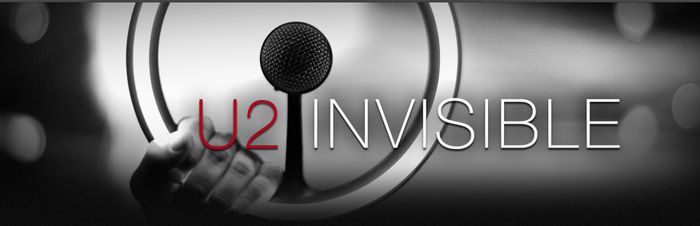 FREE Download of U2′s Newest Song Invisible Today = $1 Donation to (RED)