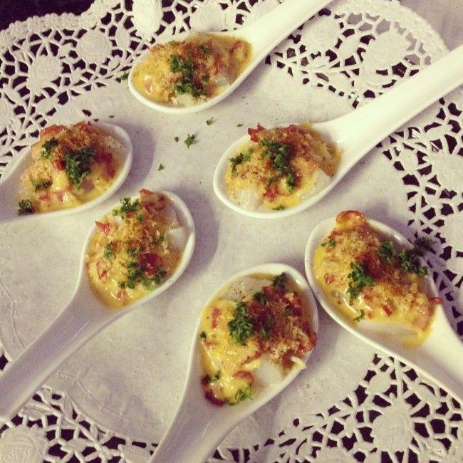 Lepelhapje met chorizo en sint-jacobsvruchten - De Loopgekke Keukenprinses