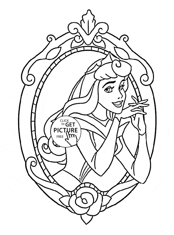 Disney Princess Aurora Coloring Page For Kids Pages Printables Free