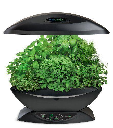 Aerogarden Classic 7 Pod With Gourmet Herb Seed Kit Black 640 x 480