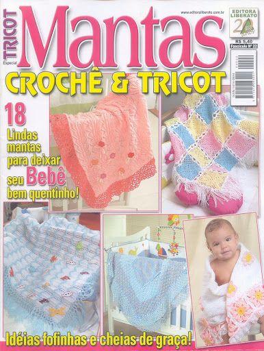 Crochet SP Couvertures couvre lits Bébé SP Mantas 1778_-_Tricot_Especial_N22_-_Mantas - christine - Álbuns da web do Picasa