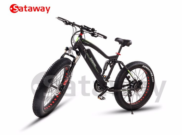 Sataway High Quality Full Suspension Snow Fat Tire Electric Mountain Bike - Buy Fat Tire Electric Bike,Fat Ebike,Full Suspension Electric Bike Product on Alibaba.com