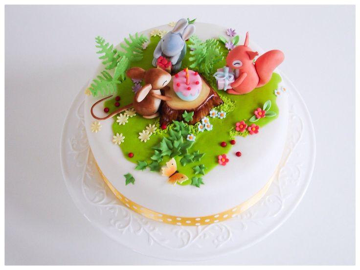 Tort na urodziny Mai