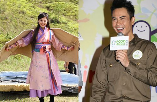 "Kevin Cheng was asked for his thoughts on girlfriend Grace Chan's leading performance in ""Captain of Destiny."""