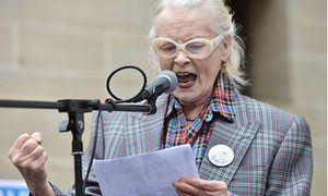 Vivienne Westwood during an NHS protest as nurses stage a  demonstration against the cuts to the bursary and its replacement with a loan. 'Nurses Bursary or Bust' NHS protests, London, Britain - 04 Jun 2016 #nhs #nurses #politics #government