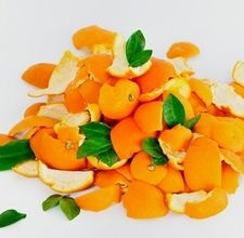 How to boil orange peels to make citrus deodorizing spray.
