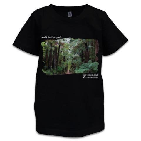 NZ Children's T-Shirt - Redwood Forest, Rotorua, NZ