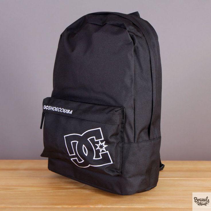 Plecak z kieszenią na laptopa DC Bunker Solid Black - kolor czarny / www.brandsplanet.pl / #dc shoes #skateboarding