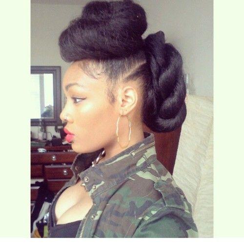 natural hair styles | Tumblr