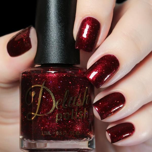 42 Nail Polish Style That Still a Trend in Winter This Year – Maniküre