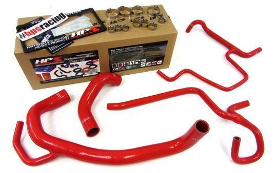 Colored Silicone Radiator Hose Kit 2011-13 300 Challenger Charger SRT8  This HPS High Temp 3-ply Reinforced Silicone Radiator Hose Kit is designed to replace your factory OEM rubber hoses which can eventually weaken over time, leading to premature failure. With premium quality silicone and race inspired design, this HPS silicon radiator hose kit can withstand the harsh high temperature and high pressure operating conditions you might subject your engine to