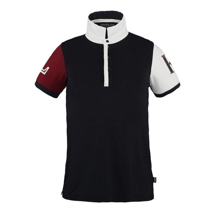 Polo pique shirt met Quick Dry stof. Tweekleurige kraag en contrastkleur mouwen.