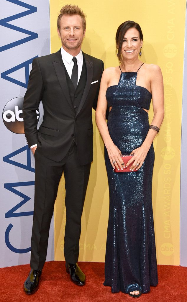 """Dierks Bentley & Cassidy Black from CMA Awards 2016 Red Carpet Arrivals  The """"Black"""" singer wouldn't be taking the stage without his supportive wife in the audience."""
