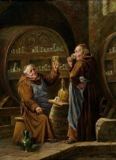 romantic painting monks - Google Search