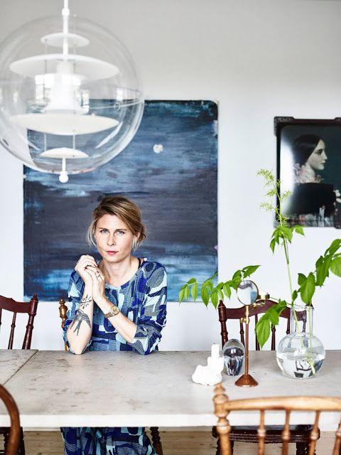 PROSA  -   TRECOS     E     CACARECOS: A casa azul na Suécia - tour