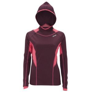 Zoot Performance ThermoMegaHeat Hoodie - Women's - Running - Clothing - Acai/Flamingo