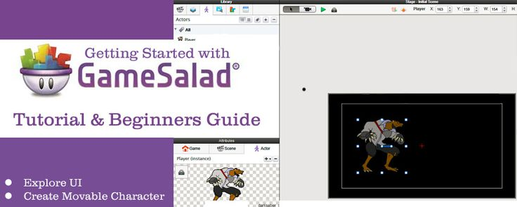 GameSalad 2D Game Maker: A Beginner's Guide & Tutorial