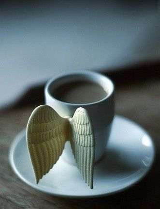I love this but i am sure it wouldn't be long before i knocked the wings off !  brewed by angels