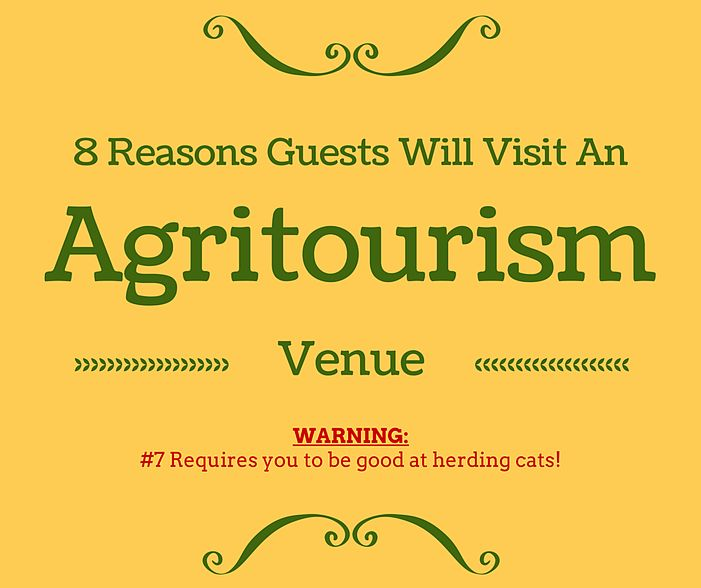 Agritourism Ideas | 8 Reasons Guests Will Visit An Agritourism Venue