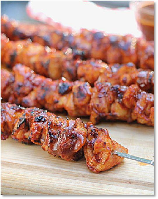 New Low FODMAP Recipes - Smoky chicken skewers   http://www.ibssano.com/low_fodmap_recipe_smoky_chicken_skewers.html