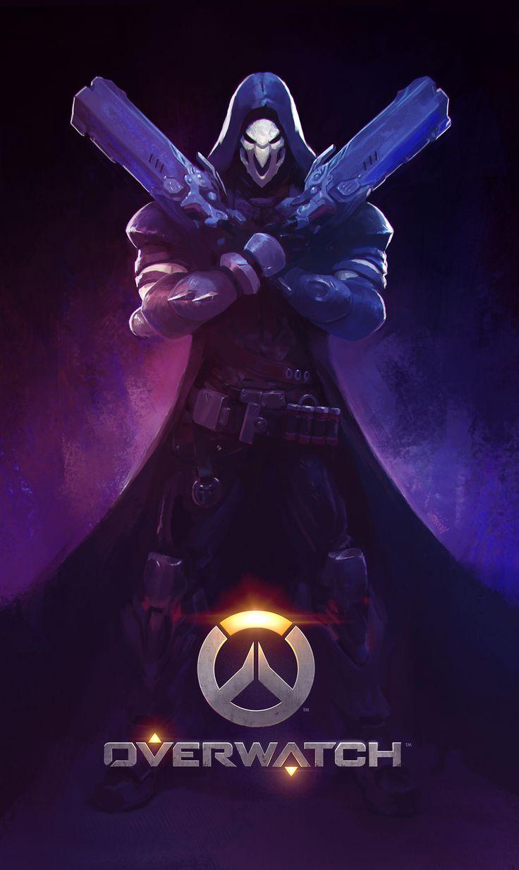 Overwatch - Reaper by Sione Salesa https://www.facebook.com/ne0shin