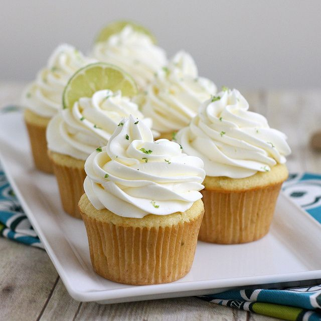 Margarita Cupcakes - Cinco de Mayo