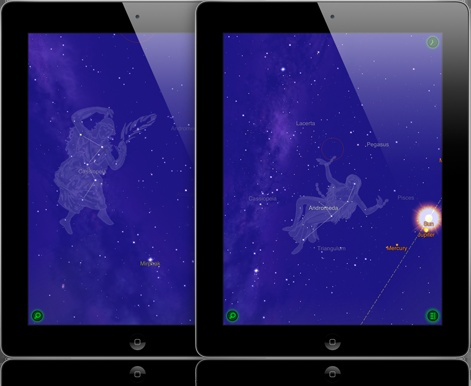 Star Walk app - Point your iPad toward the sky and discover stars, constellations, and satellites in real time.Awesome App, Discover Stars, Astronomy App, Stars Constellations, Star Constellations, Walks App, Stars Walks, Real Time, Ipad App