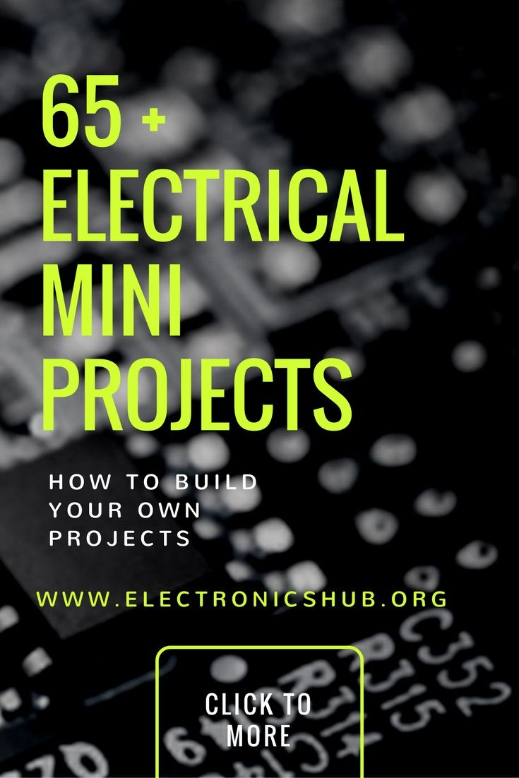 Here are the best electrical mini projects curated for final year engineering students, you can find here resource of complete project code, circuits etc..